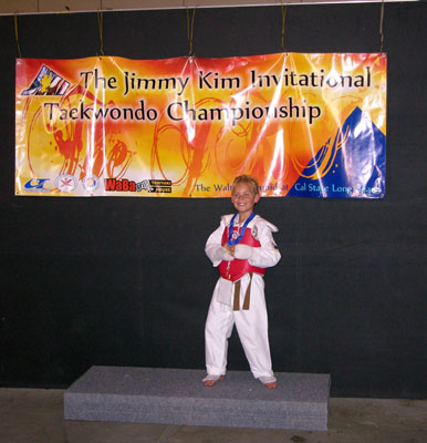Gold medal for sparring