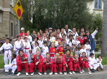 Victory Tae kwon Do Members