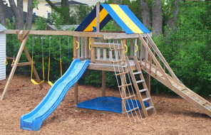 Pdf diy free plans for wooden jungle gyms download for Wooden jungle gym plans