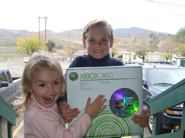 Going home with the Xbox.